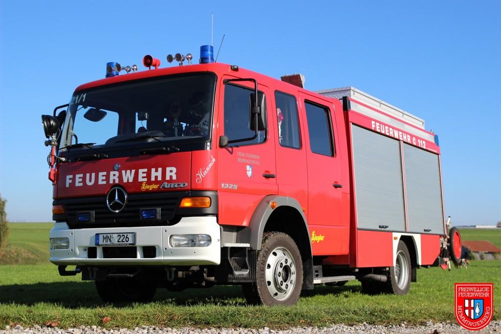 Tanklöschfahrzeug: TLF 16/25 (Funkrufname: 21/1)