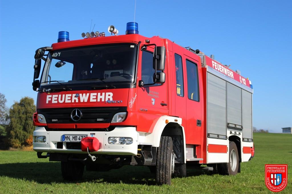 HLF20/16 - Feuerwehr Memmingerberg